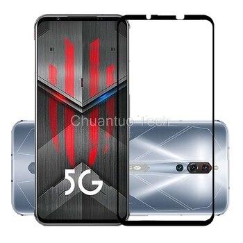 Перейти на Алиэкспресс и купить 30 шт./лот 9H Премиум Закаленное стекло для ZTE Nubia Red Magic 5S полное покрытие Защитная пленка для экрана Red Magic 5S