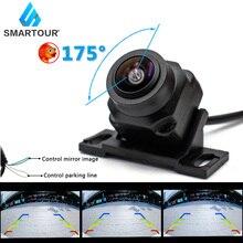 Smartour HD 1080P Fahrzeug Rückansicht Kamera Auto Reverse Schwarz Fisheye Objektiv Nachtsicht Wasserdichte Universal 175 Grad