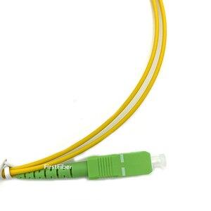 Image 2 - 10 個の sc APC パッチコード 1 メートル 2 メートル 3 メートルパッチコード G657A シンプレックス 2.0 ミリメートルフィブラ Optico SM 繊維光ジャンパー 5 メートル 10 メートル 15 メートル