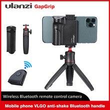 Ulanzi CapGrip Drahtlose Bluetooth Smartphone 1/4 Schraube Selfie Booster Griff Grip Telefon Stablizer Stehen Halter Auslöser