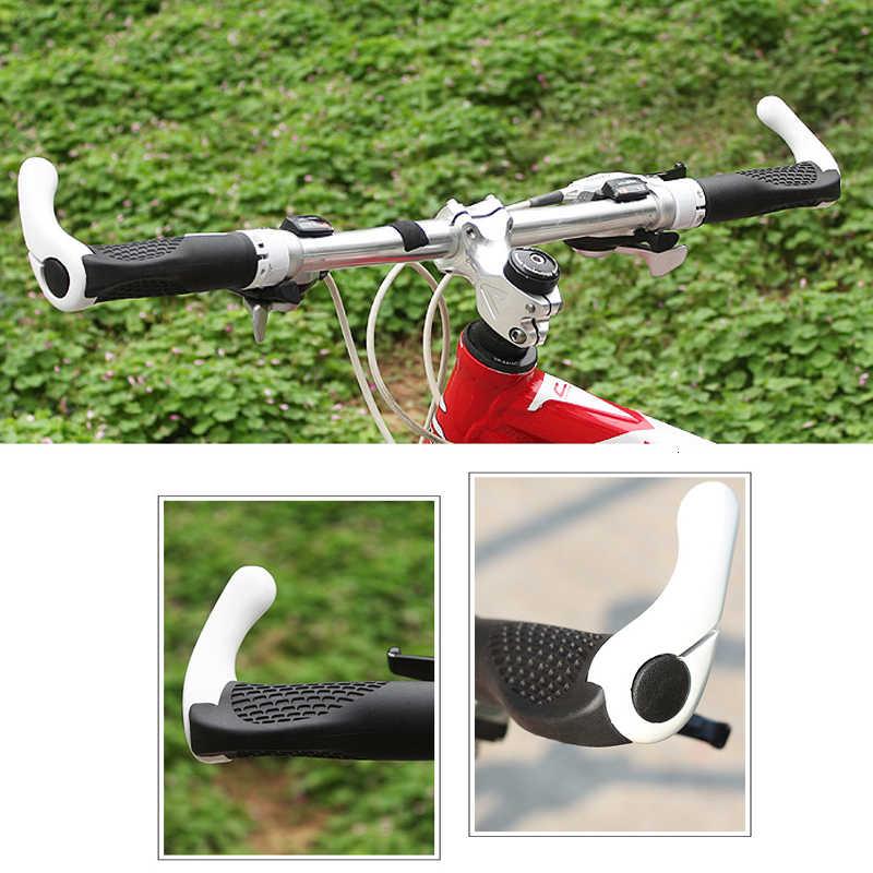 1 Pair Mountain Bike Handle Bar Non-slip Rubber Grip Cover Cycling Sleeves NIGH