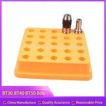 1 шт., коробка для хранения BT30 BT40 BT50, чехол, коробка для сбора инструментов для станков с ЧПУ, чехол для хранения ручек
