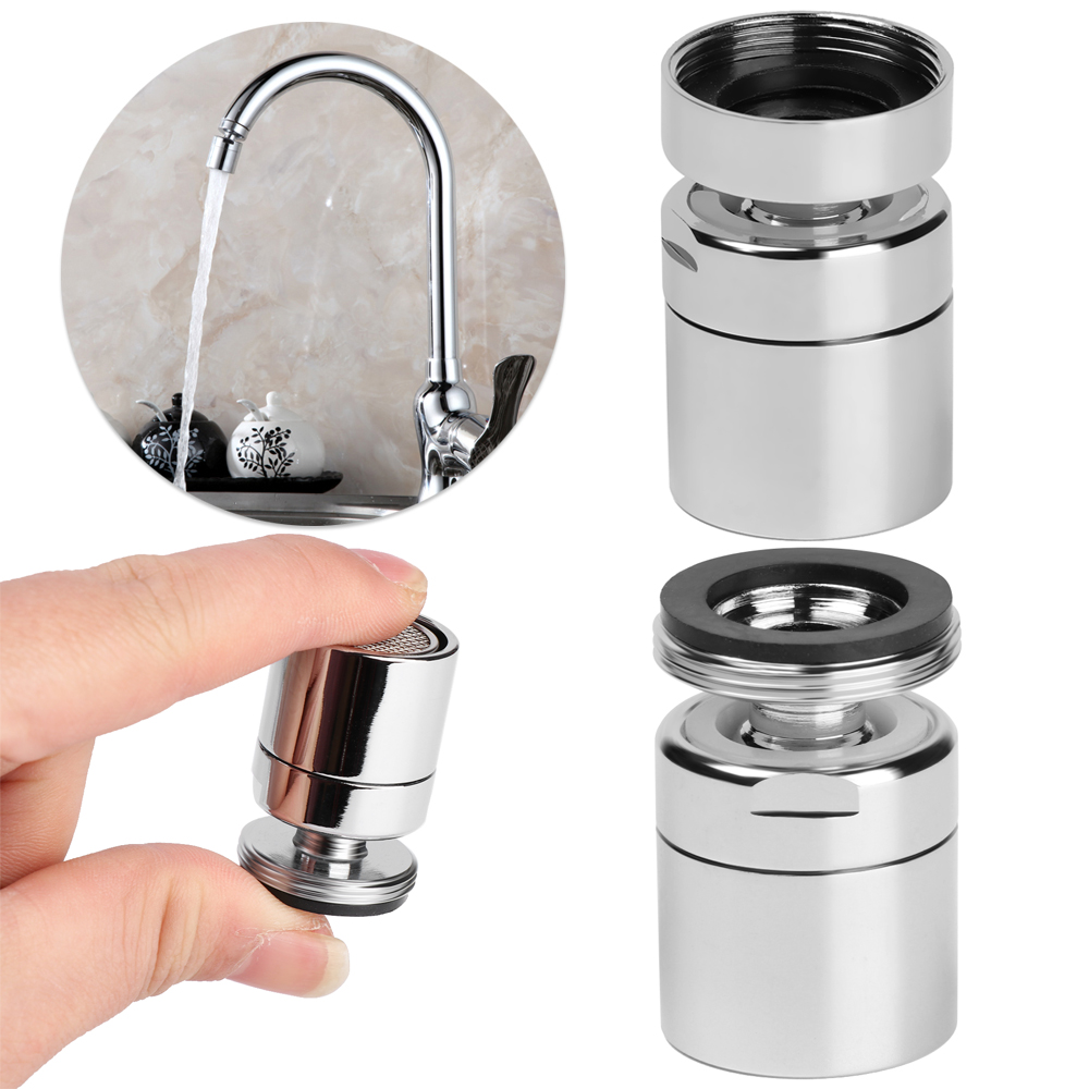 360 Degree Aerator Swivel Tap Faucet Nozzle Sink Mixer ABS Plastic Kitchen Tool
