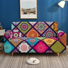 Bohemia Slipcovers Sofa Cover Mandala Pattern Sofa covers sofa towel Living Room Furniture Protective Armchair couches sofa