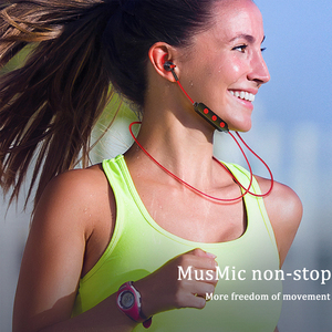 Image 2 - HOCO TF Card Bluetooth Earphones Wireless Headset with Mic for iPhone Xiaomi Samsung Stereo In Ear Hook Earbuds Sports Running