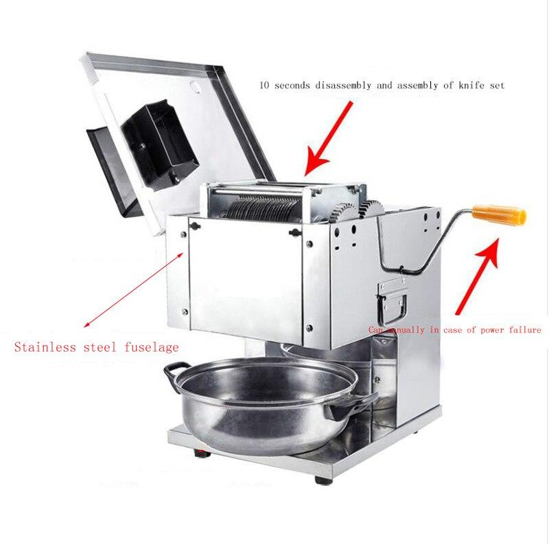 2,0 мм автоматический Электрический Резак для нарезки мяса, мультифонционный нож для резки мяса, электрическая Быстрая резка нарезанного мяса