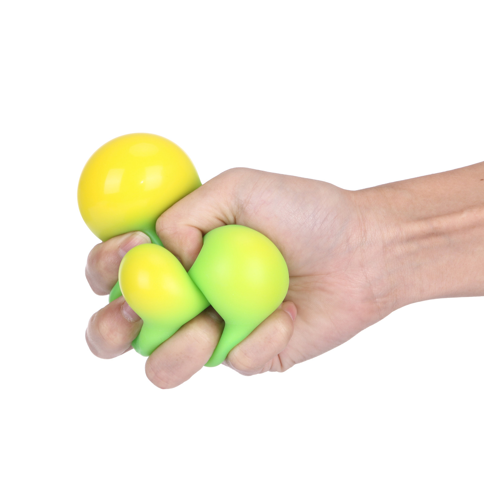 Clear Stress Balls Colorful Ball Autism Mood Squeeze Relief Healthy Toy Funny Gadget Vent Toy Children Christmas Gift 2021 img4