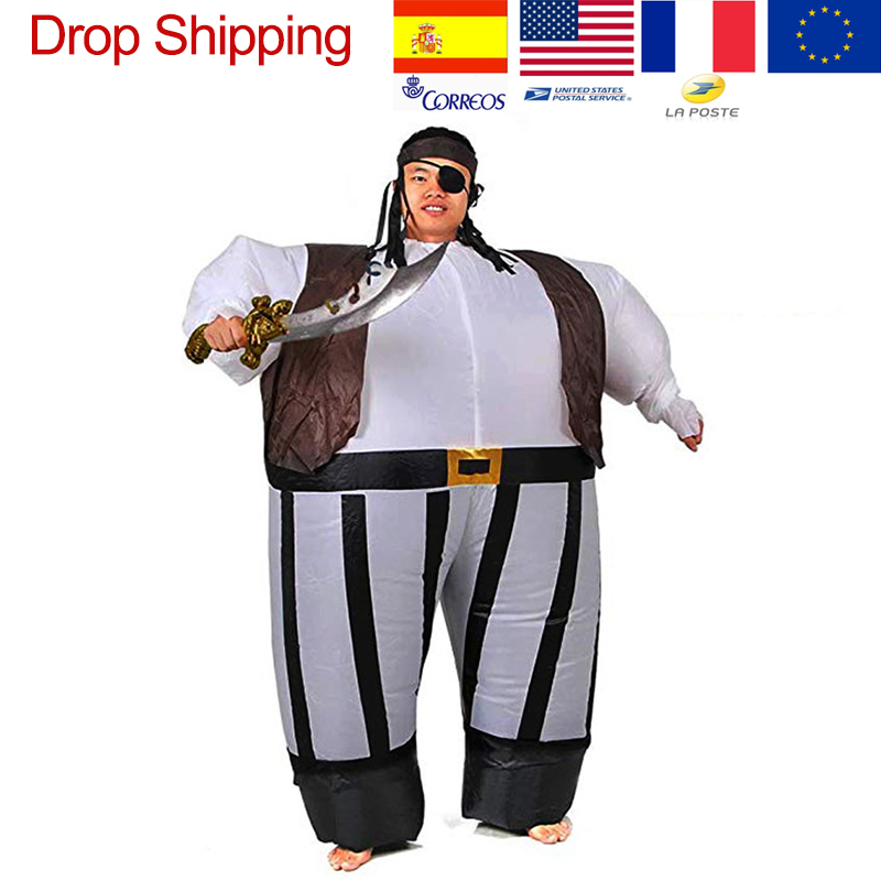 Inflatable Pirate Large Jumpsuit Adult Cosplay Prop Fancy Dress
