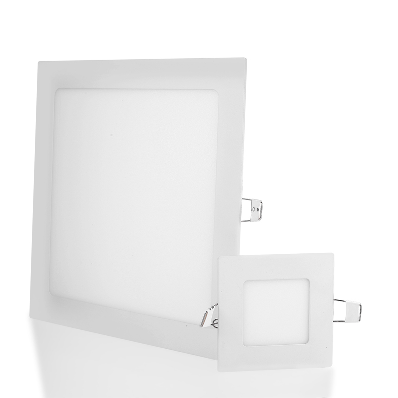 Ultra Thin Square LED Panel Light 3W 6W 9W 12W 15W 18W Driver Included AC85-265V Recessed LED down light for indoor Lighting