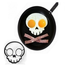 Silicone Fried Egg Pancake Omelette Ring Fried Eggs Rabbit Skull Owl Mould Shaped Eggs For Kitchen Cooking Breakfast Frying Tool round shaper eggs mould for cooking breakfast frying pan oven kitchen new silicone fried egg pancake ring omelette fried egg