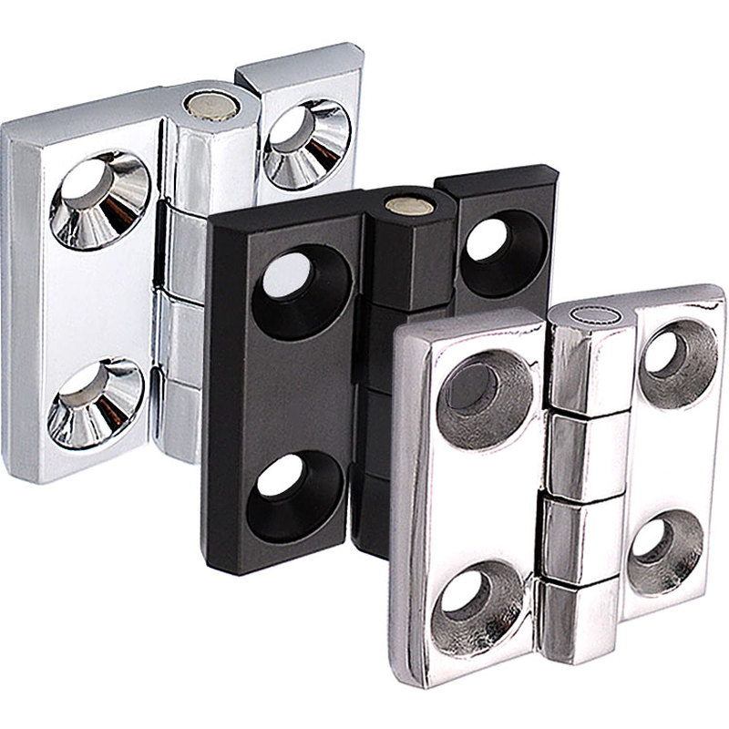 Stainless steel / zinc alloy industrial metal cabinet hardware casting butterfly hinge miniature furniture hinge