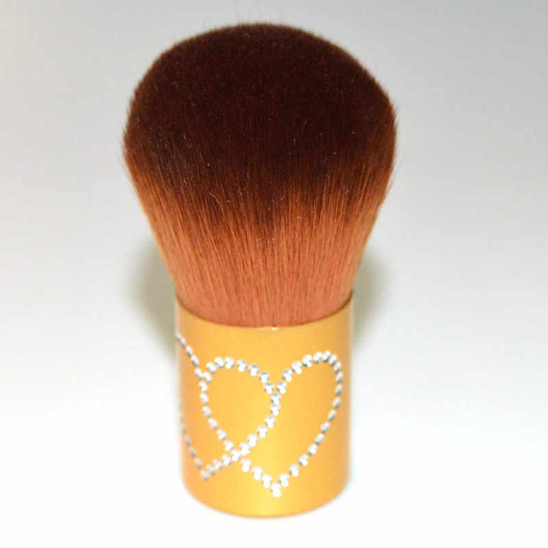 הקאבוקי אבקת איפור מברשות רך נייד סומק מברשת קרן איפור יופי חיוני 6 צבעים פרימיום איכות
