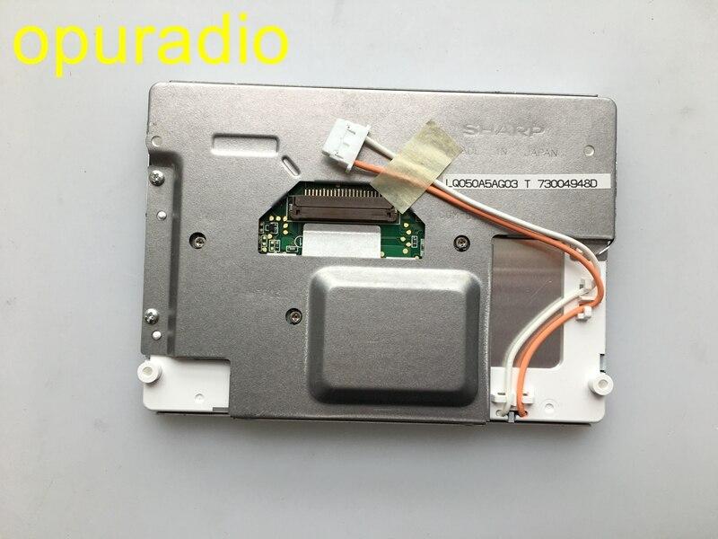Novo original lq050a5ag03 lq5aw136 5 polegada display lcd para pors che v w 2009 touareg ser ntley monitor do carro