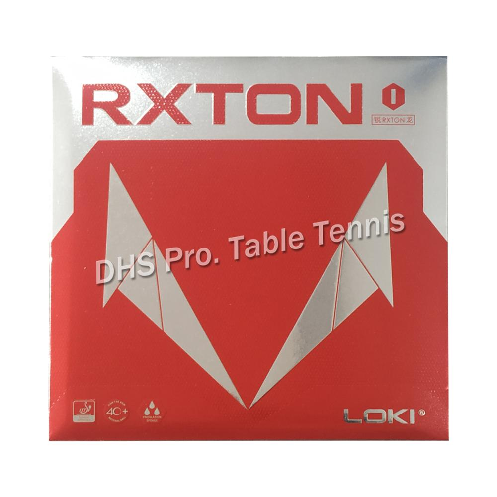 LOKI RXTON III Cake Sponge stacky Table Tennis Rubber// Ping Pong Rubber