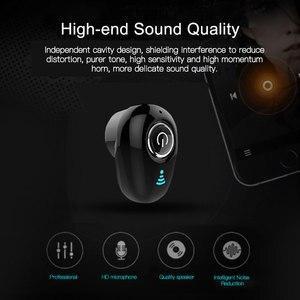 S650 мини Bluetooth наушники беспроводные в уши невидимые вакуумные наушники гарнитура стерео с микрофоном для iPhone xiaomi