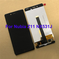 For Nubia Z11Mini NX529J LCD Screen 100% Tested LCD Display +Touch Screen Assembly Replacement For Nubia Z11 Mini NX529J