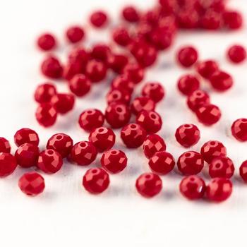 MH kryształowe koraliki wina czerwone szkło koraliki 3*4mm 4*6mm 6*8mm austriackie cięcia szkło kryształowe koraliki luźne koraliki do biżuterii DIY produkcji tanie i dobre opinie NONE Moda Round Shape Glass
