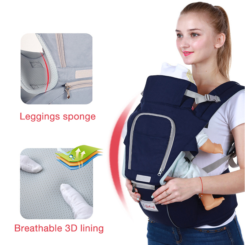 AAG Ergonomic Baby Carrier Backpack Portable Baby Hipseat Sitter Waist Stool Kangaroo Child Infant Carrier Sling Wrap Hip Seat
