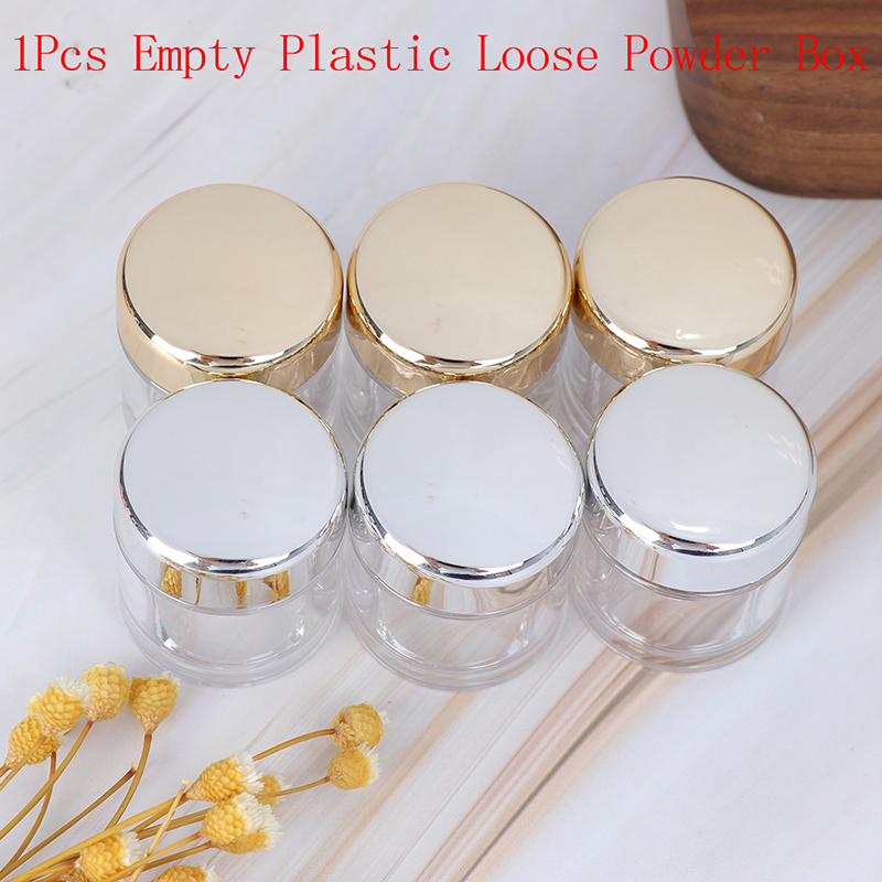 5ml Empty Cosmetic Jar Pot Clear Eyeshadow Powder Cream Bottle Box Small Sample Eyeshadow Makeup Cream Lip Balm Container