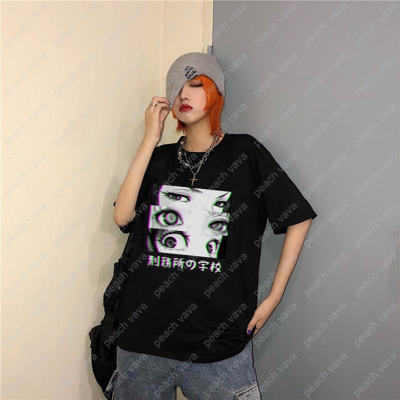 Prison School Anime Eyes T-shirts 3