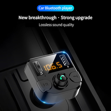 Car USB Charger for Xiaomi USB Car Phone bluetooth Car MP3 Player FM Transmitter Dual USB Charger For iOS Smartphone original xiaomi roidmi 2s bluetooth car charger