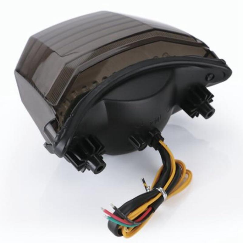 Motorcycle LED Tail Brake Turn Signal Integrated Light For Yamaha FZ600 FZ6 04-08