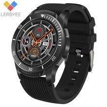 "Lerbyee GT106 Smart Watch 1.28 ""schermo intero Touch cardiofrequenzimetro promemoria chiamate Fitness orologio uomo donna musica Smartwatch iOS"