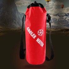 Портативная сумка для бутылок, изолированная Термосумка-холодильник для льда, теплая сумка для ланча и еды, сумка для пикника, изоляционная сумка для термоса для мужчин и женщин