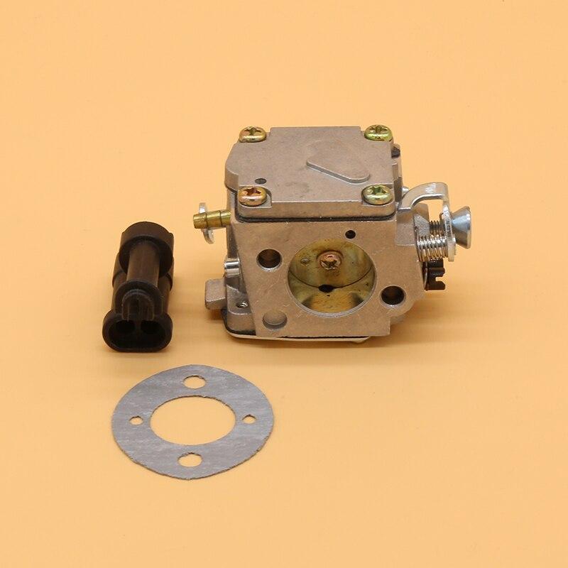 Carburetor   amp   Adjusting Sleeve  amp  Carb Gasket Kit Fit For HUSQVARNA 61 266 268 272 XP Garden Gas Chainsaw Spare Parts