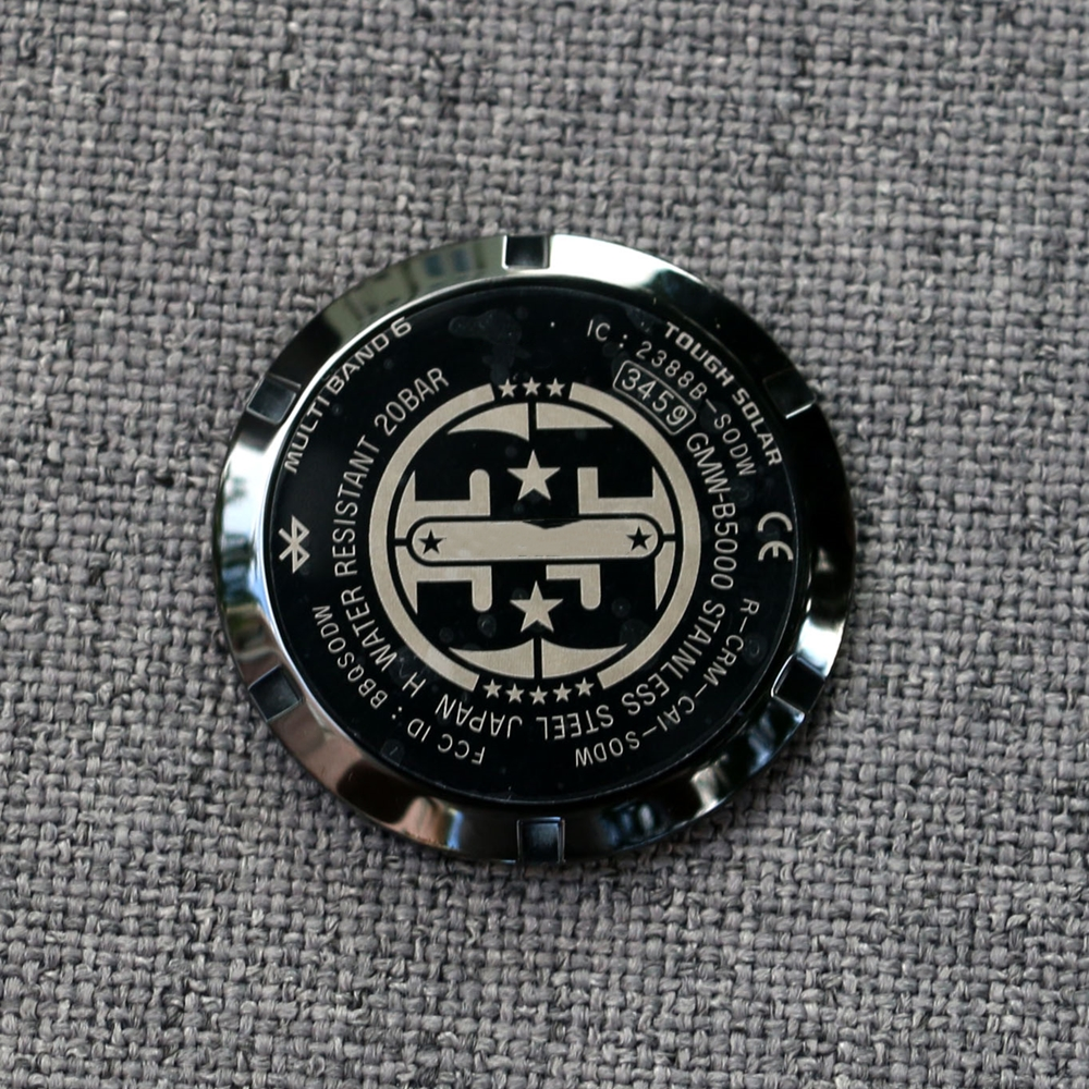GMW B5000 Back Cover 35th Anniversary Limited VersionWatch Cases