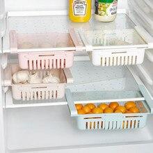 Держатель для хранения новая кухонная стойка для хранения мелочей для ящика холодильника полка-контейнер Layerstorage органайзер для домашнего хозяйства d2