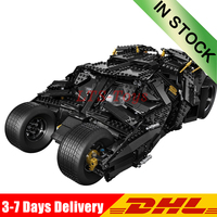 IN Stock 07060 1969Pcs Super Hero The Tumbler Armored Chariot Set Building Blocks Bricks Model Toys Compatible LegoINGlys 76023