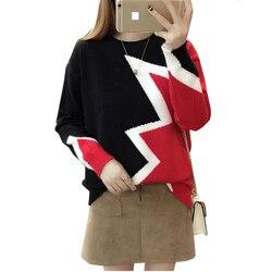 Neue Riff und winter Mode frauen pullover hohe elastische O-neck pullover frauen schlanke Kaschmir Tiefen punkt entwöhnte pullover