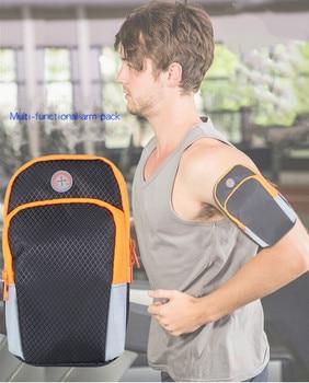 UniversalWaterproof Sport Armband Bag Running Jogging Gym Arm Band Mobile Phone Bag Case Cover Holder for