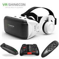 Gafas VR Shinecon Pro Realidad Virtual 3D gafas VR Google cartón auriculares gafas virtual para los teléfonos inteligentes ios Android 4 -6