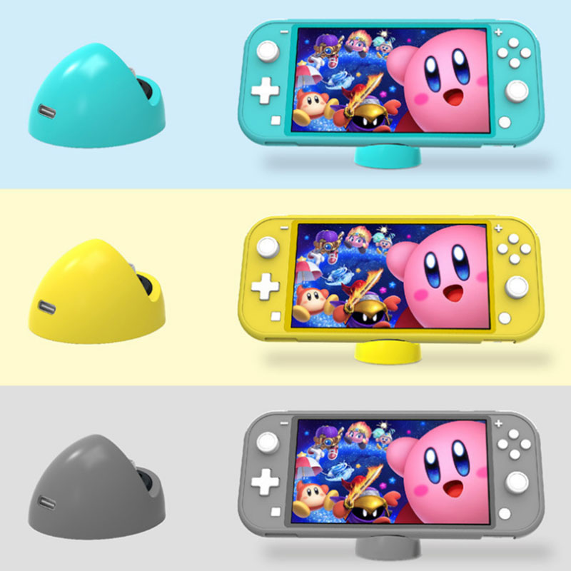 Switch Lite Charging Dock NS Switch Portable Mini Charger Stand Base Type-C Ports For Nintend Switch Game Console Accessories