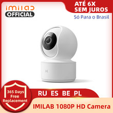 IMILAB – caméra de Surveillance intelligente IP WiFi 016, 360 P HD, 1080 °, babyphone vidéo, avec application Mi Home, Version internationale