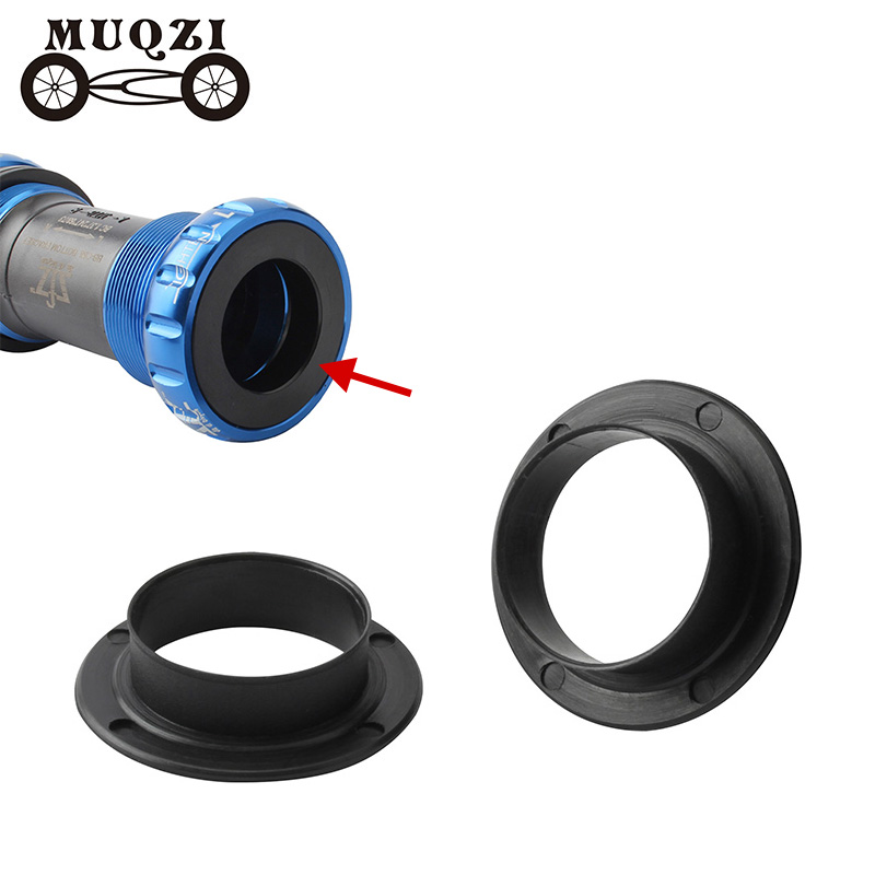 MUQZI Bicycle Bottom Bracket Cover Protection Cap  Road Mountain Bike Fixed Gear BB Thread Push-in ID 24MM