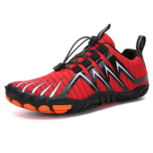 Summer barefoot water shoes red new beach shoes women