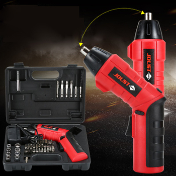 Multifunctional Charging Drill 4.8V Electric Screwdriver Outdoor Portable Convenient Multifunctional Set Electric Screwdriver