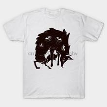 Homens tshirt Lobo Lobo Lobo T Shirt t-shirt das mulheres t-shirt top