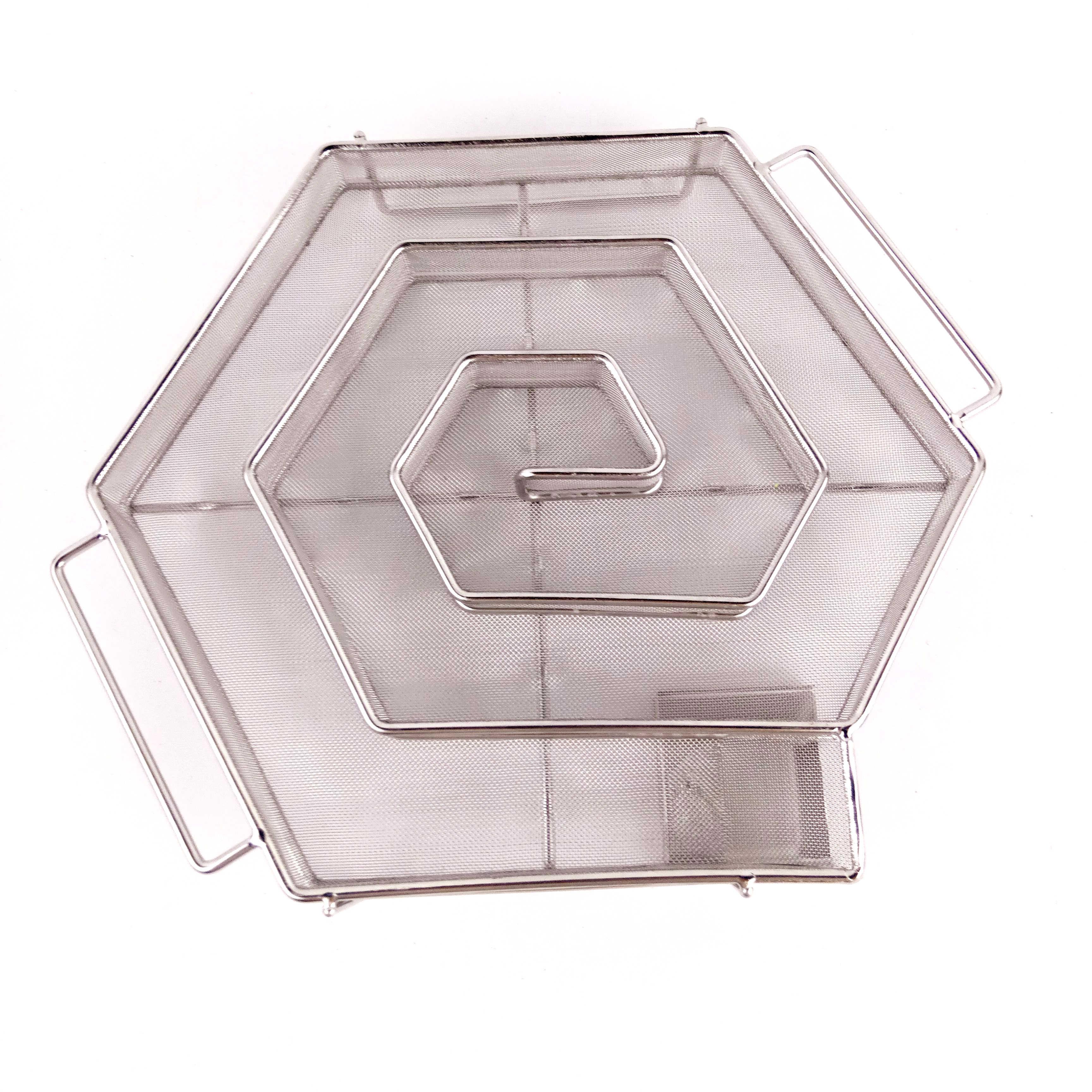 Caja De Generador Frio De Humo Para Barbacoa Hexagono De Manzana
