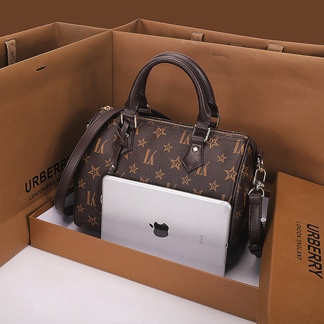 Leather Top Handle Designer Tote  4