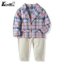 Kimocat Blazers Suits Infant Boys New Spring Summer Vest Shi
