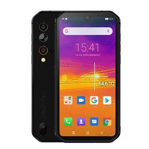 Смартфон Blackview BV9900 Pro, термокамера, мобильный телефон, Восьмиядерный процессор Helio P90, 8 ГБ + 128 ГБ, IP68/IP69, прочный, четырехъядерный, камера задне...