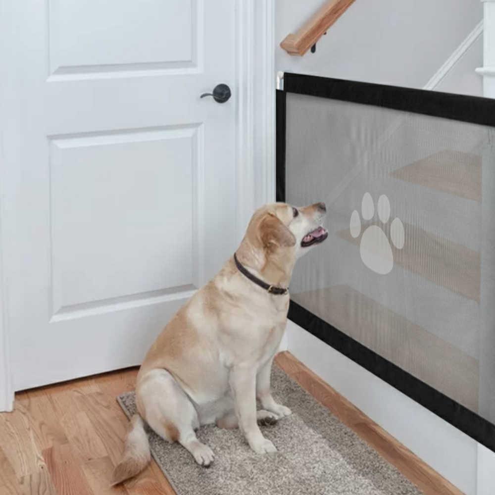 Petshy Hond Kat Hekken Draagbare Opvouwbare Mesh Safe Guard Indoor Outdoor Veiligheid Isolatie Netwerk Huisdier Gate Voor Baby Kinderen Honden
