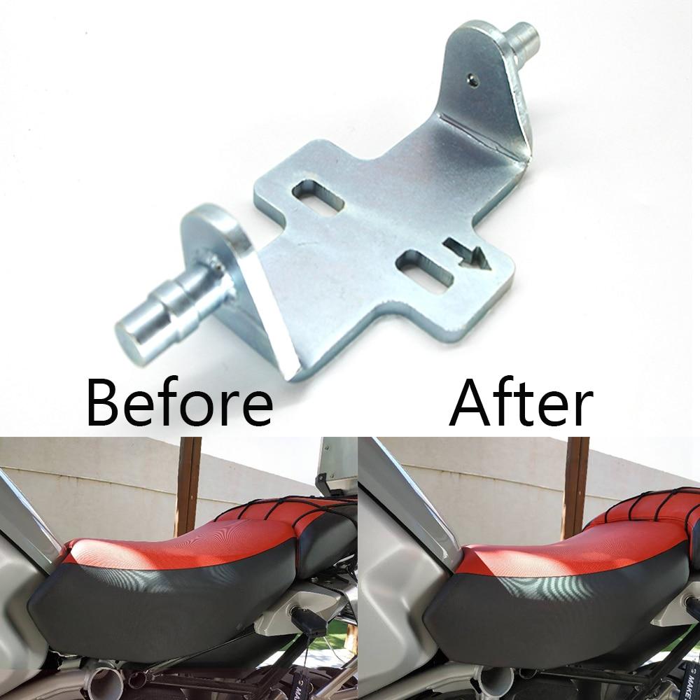 For BMW R1200GS GS 1200 R 1200GS lc R1250GS ADV adventure R1200RT  2008 2018 Motorcycle Rider Seat Lowering Adjustable Kit 10mmCovers