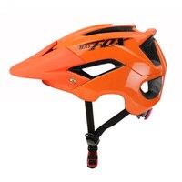 Batfox 트레일 XC MTB 자전거 헬멧 사이클링 헬멧 인 몰드 도로 자전거 헬멧 여성 산악 자전거 헬멧 안전 캡 자전거 헬멧