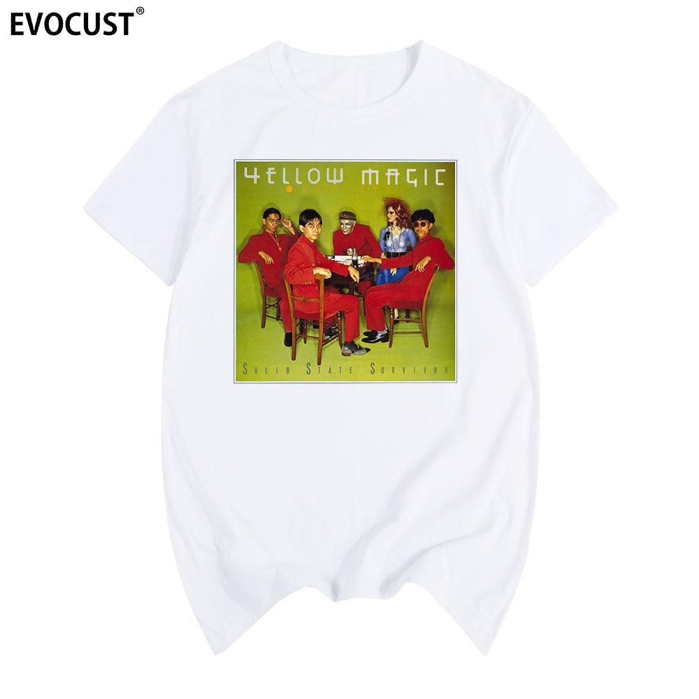 2019 Yellow Magic Orchestra YMO Multicolor T-shirt Cotton Men T Shirt New TEE TSHIRT Womens