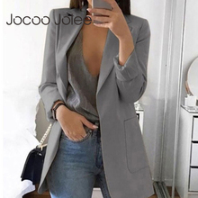 Jocoo Jolee 2019 Women Fashion Elegant Jackets European Work OL Blazer Casual Suit Slim Twe